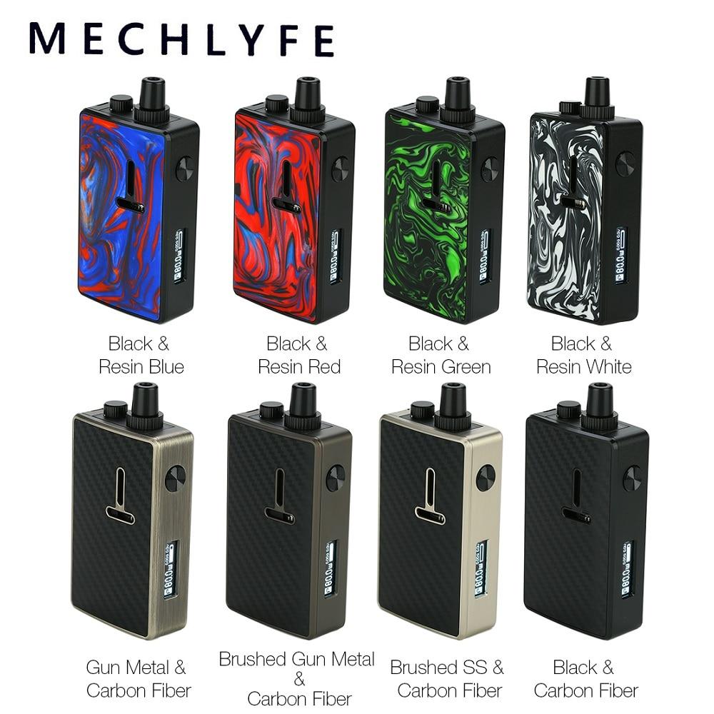 Mechlyfe Ratel XS 80W TC Rebuildable Mod Pod Kit Power By 18650 Battery & 5.5ml Cartridge For DTL & MTL Vape Kit Vs Vinci X/ Gen