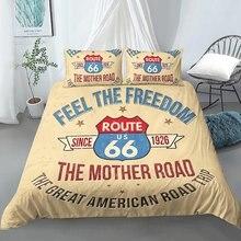 Route 66 Комплект постельного белья пододеяльник наволочки двуспальный