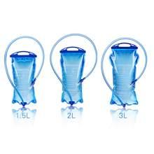 Saco de bexiga de água reservatório de água pacote de hidratação 1.5l 2l 3l à prova de vazamento de armazenamento de água bpa livre correndo hidratação bexiga