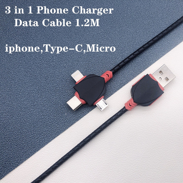 1.2M  3in1  Cable