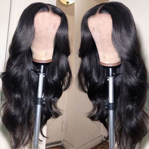 Image 3 - 180 Density Wavy Body Wave Lace Front Wig HD Transparent Lace Frontal Wigs T PART Lace Front Human Hair Wigs Remy Brazilian Wigs