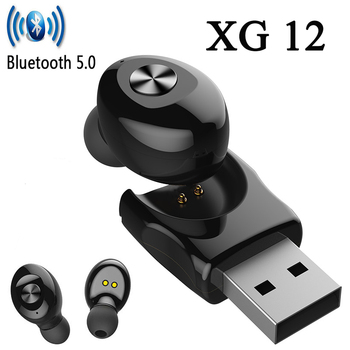 new mini XG12 Bluetooth wireless headset for Apple Android PKi7S V8 i9 i11 i14 i18 i12 i20 i90 i50 PRO TWS image