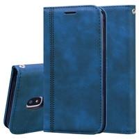 Leder Brieftasche Handyhülle für Samsung Galaxy J5 J7 J3 2017 J 5 7 3 SM J730F J530F J330F SM-J330F SM-J530F SM-J730F DS Flip Hülle