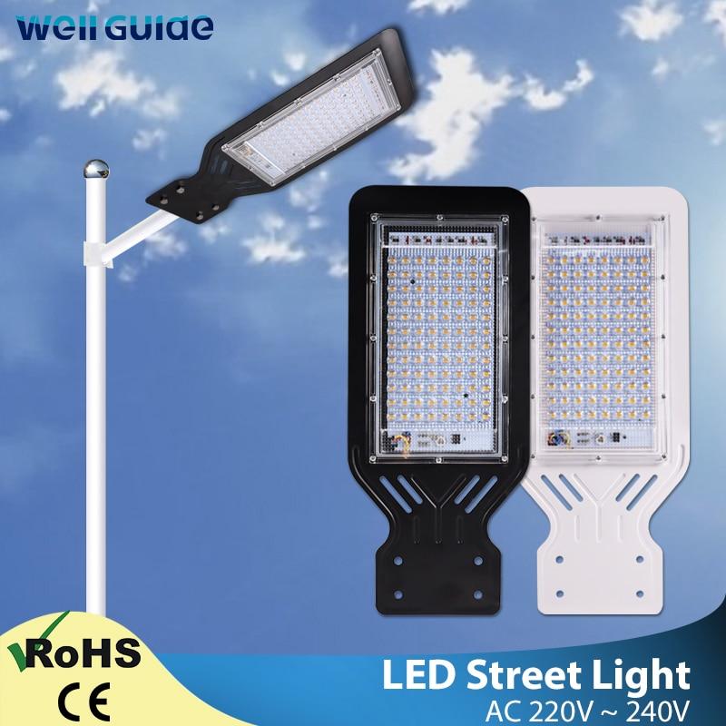 LED Flood Light 100W 50W Outdoor Lighting Wall Lamp AC 220V 240V IP65 Waterproof Led Street Light Industrial Garden Area Parking