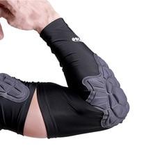 1PCS Crashproof Elbow Protector Crashproof Elbow Pads Arm Sleeve Padded Support Brace for Tennis Basketball Volleyball Honeycomb цены онлайн
