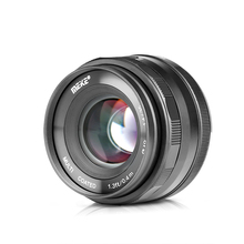 Meike 35Mm F1.4 Handmatige Focus Lens APS C Voor Fujifilm XT100 XT3 XT10 XT4 XT20 XT30 XE3 XE1 X30 XT2 XA1 XPro1 Camera + Gift