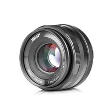 Meike 35mm f1.4 ידני פוקוס עדשת APS C עבור Fujifilm XT100 XT3 XT10 XT4 XT20 XT30 XE3 XE1 X30 XT2 XA1 XPro1 מצלמה + מתנה