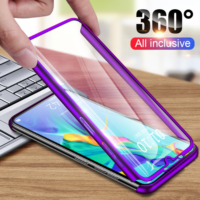 New 360 Degree Phone <font><b>Case</b></font> For <font><b>Huawei</b></font> Y5 Y6 <font><b>Y7</b></font> Pro Y9 Prime <font><b>2019</b></font> P30 P20 Pro <font><b>Case</b></font> Full Cover for <font><b>Huawei</b></font> Mate 20 10 Lite Pro <font><b>Cases</b></font> image