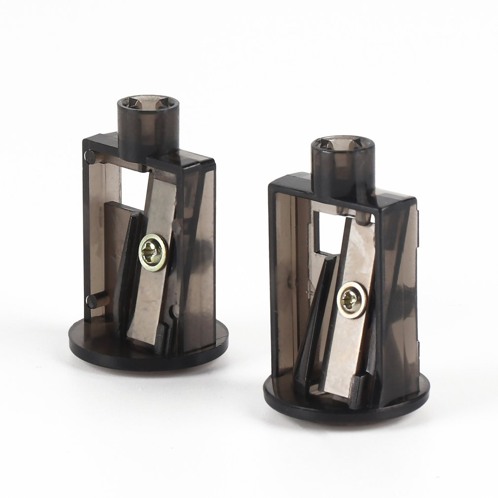 2pcs/set Multifunctional Automatic Electric Pencil Sharpener Blades Home Office Pencils Art Drawing Supplies