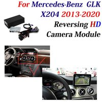 HD Rear Front View Backup Camera For Mercedes Benz GLK X204 2013 2020 Car DVR Camera Original Screen Upgrade Decoder Accesories