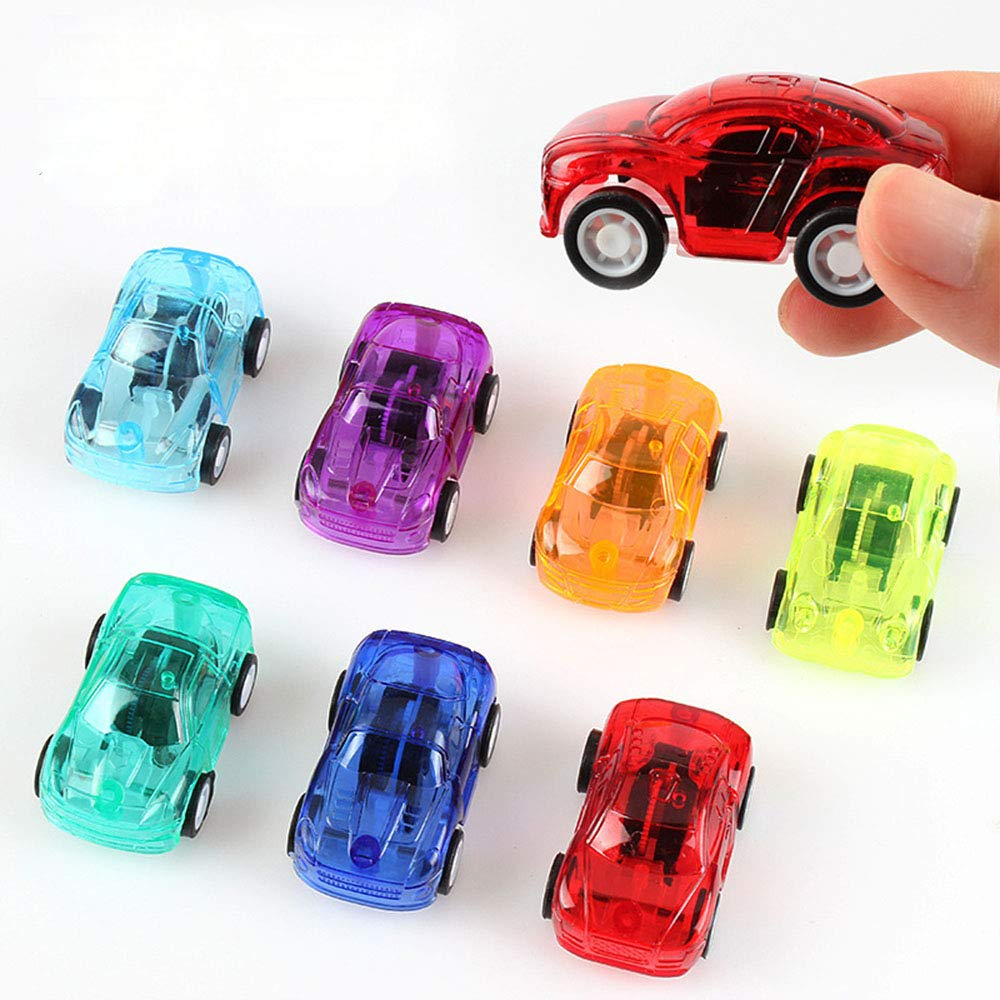 5 Pack Pull Back Car Set Of Toy Cars Party Favor For Boys Mini Toy Cars Set For Kids Toddlers Birthday Play Plastic Vehicle Set