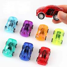 5 Pack Pull Back Car Set of Toy Cars Party Favor for Boys Mini Toy Cars Set for Kids Toddlers Birthday Play Plastic Vehicle Set 6pcs set boy girl cute mini pull back car toys cartoon inertia pullback toy set truck vehicle for kids toddlers