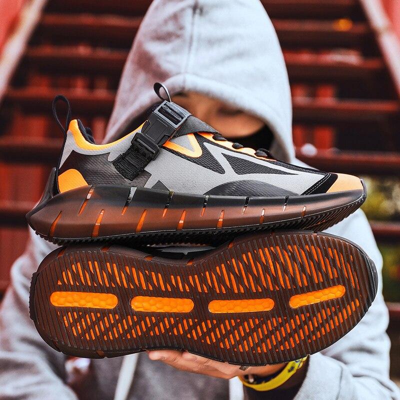 Новинка; летняя дышащая мужская обувь; повседневные кроссовки для бега; модные мужские кроссовки из сетчатого материала; кроссовки для тенниса; Masculino; 2020 on AliExpress