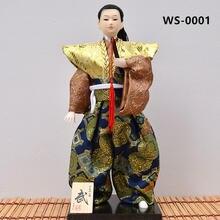 Myblue 30 см кавайная японская Самурай С Катаной мечом ниндзя