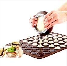 ซิลิโคนMacaron Macaroon Pastryเตาอบเบเกอรี่แผ่น 30 Cavity DIYแม่พิมพ์เบเกอรี่เครื่องมือที่มีประโยชน์