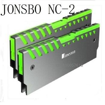 2 uds Escritorio de refrigeración de memoria chaleco NC-2/RGB/color luz del radiador de aluminio disipador para memoria RAM multicolor refrigerador