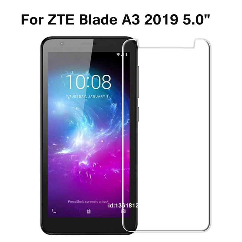 ZTE Blade A3 2019 Tempered Glass 9H High Quality Protective Film Screen Protector Phone Cover Glass For ZTE Blade A 3 2019 5.0