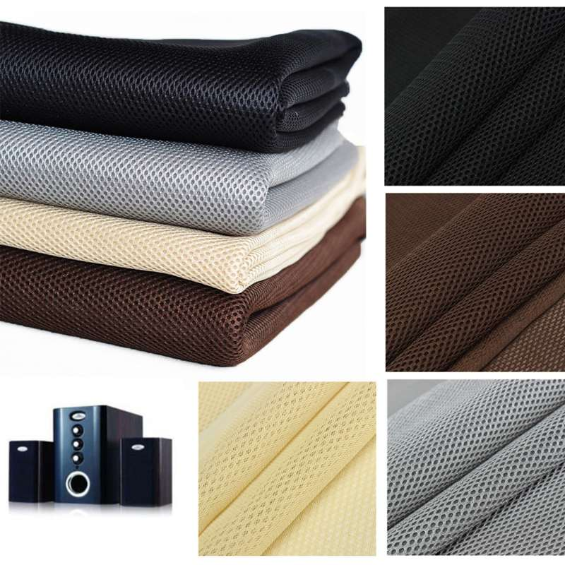 LEORY Speaker Grill Cloth Stereo Gille Fabric Speaker Mesh Cloth 1.4m X 0.5m 4 Colors Large/ Sound Box / KTV Box