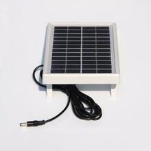 3 Вт 12 В мини солнечная батарея поликристаллическая солнечная панель DIY Панель солнечной энергии зарядное устройство+ DC 5521 кабель 3 м