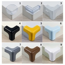 Table-Corner Corner-Protector Anti-Collision Transparent Home-Decor Baby Safety Thickened