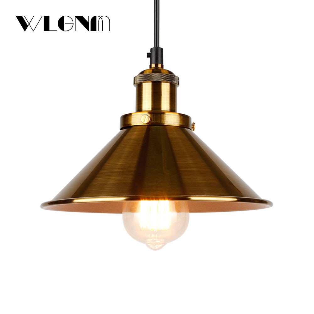 Industrial Pendant Lights Vintage pendant Lamp Hanging lamp modern pendant ceiling lamps LED restaurant Living room decorationPendant Lights   -