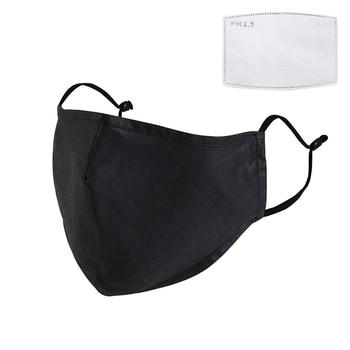 Reusable Cotton Mask Breathing Valve Mask PM2.5 Anti-fogcarbon Adult Three-dimensional Protective Mask Filter Anti Flu Mask