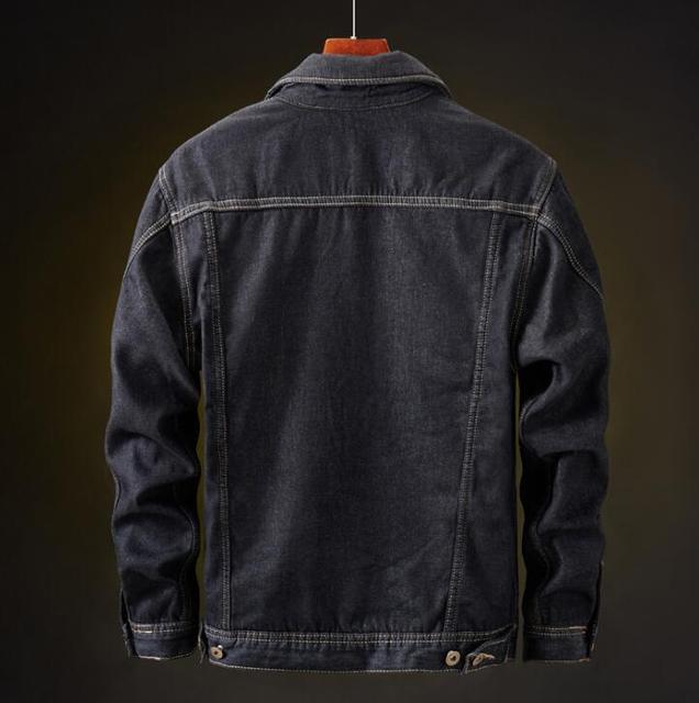 winter Men Jacket And Coat Warm Denim Jacket Fashion 3
