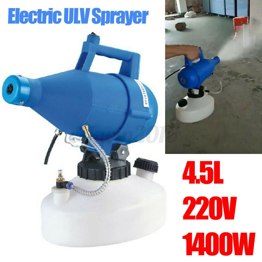 220V 4.0L 4.5L Portable Electric Sprayer Insecticide Disinfection And Anti-epidemic Nebulizer Sterilizer