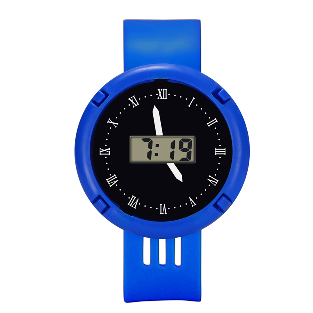 New Fashion Kids Casual Electronic Watch Children Comfortable Silicone Sports Watches Fluorescent Watches MV66