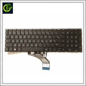 Французская клавиатура с раскладкой AZERTY для HP Pavilion 15-DA 15-DB 15-DF 15-CN 15-CW 15-CR 15-CS TPN-C135 250 G7/255 G7/256 G7 FR