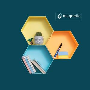 Image 3 - Manyetik DIY yazı tahtası çizim kurulu ile tebeşir kalem çocuklar boyama Doodle eğitim oyuncaklar çocuklar için doğum günü hediyesi