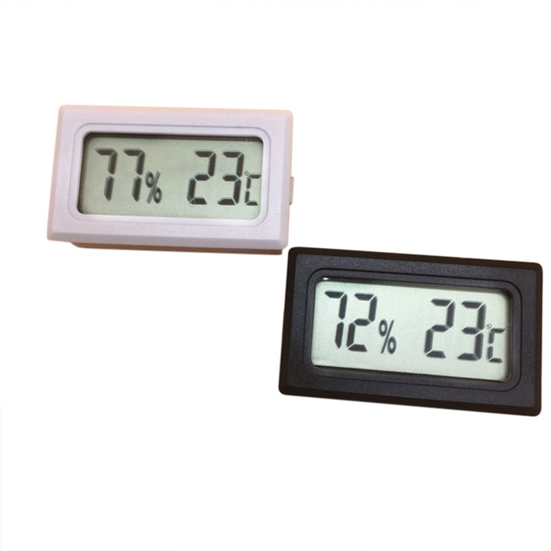 Thermometer Hygrometer Temperature Control Pet Reptile Product Fish Tank Embedded Mini Type Electronic Digital Display New