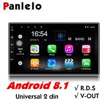 Panlelo S2 Android Universal 2 Din Auto Radio 7 Touch Screen Quad Core Car Multimedia Stereo GPS Navigation