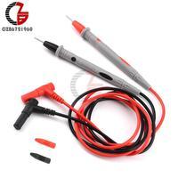 Sondas de Medición de Pin de prueba, para multímetro Digital, punta de aguja, multímetro, Cable de lápiz de sonda de plomo, 20A, 10A, 1000V