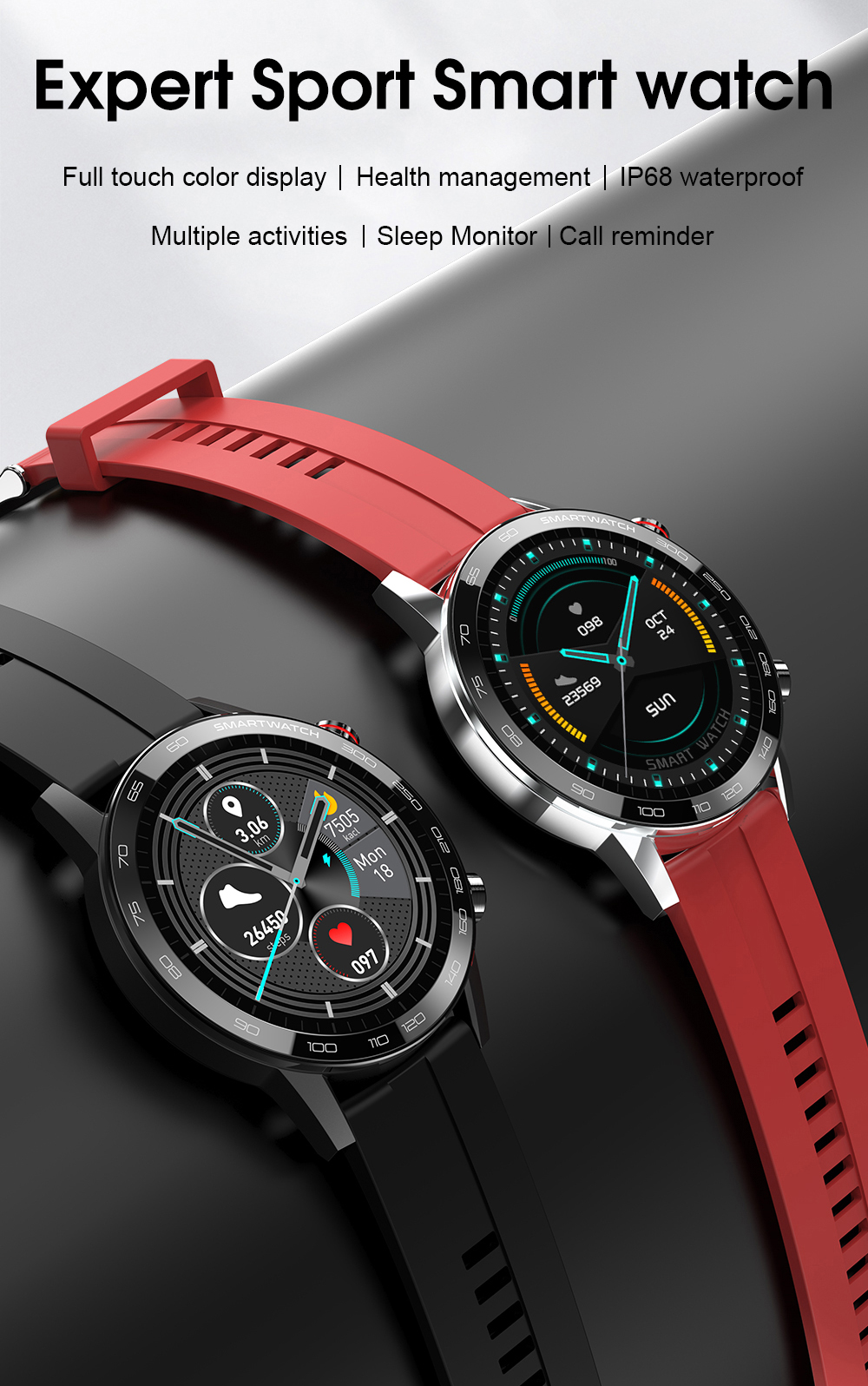 Haad2a09d732c4d85a7ca75130aafaf61f Reloj Inteligente Hombre Smartwatch Ecg Ppg IP68 Smarthwatch Men Full Touch Smart Watch 2020 For Huawei Xiaomi Android Apple IOS