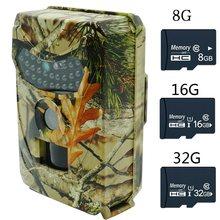 12mp trail câmera hd detector de animais selvagens scouting ao ar livre caça câmera visão noturna monitoramento de vídeo infravermelho detecção de calor