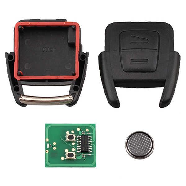 Nuevo 2 botón de Control remoto de coche de Control para Opel Astra Vectra Zafira 433,92 MHz No chip