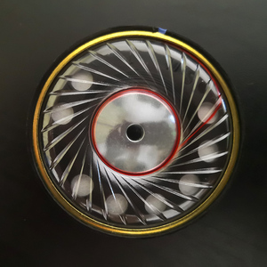 50mm 40 ohm alta fidelidade fone de ouvido alto-falante cca unidade diy audiophile fone de substituição