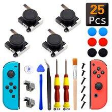 Joystick analógico 3D para Nintendo Switch NS, reemplazo de Joystick, herramienta de reparación de hebillas de bloqueo de Metal
