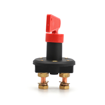 Battery Disconnect Kill Selector Switch 100a Battery Master Disconnect Rotary Cut Off Isolator Kill Switch Car Van Boat M22 image