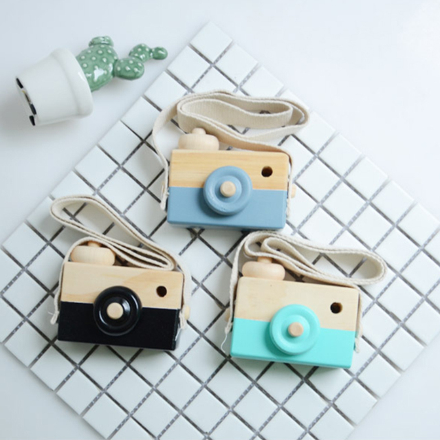 Nordic Hanging Wooden Camera Toy Children'S Toys Gifts Room Decoration Supplies Wooden Toys JPDZS1031 5