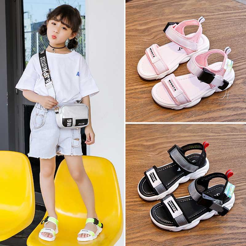 2020 Summer New Children Slippers Boy Indoor Antiskid Sandals Soft And Comfortable Girls Beach Shoe Kids #13