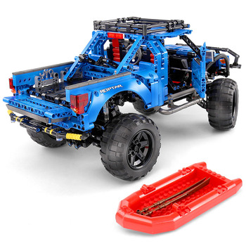 DHL 701990 Forded Mustanged F-150 Trucks Legoing 10265 Creator Technic Speed Champions Car RC Christmas Gifts Toys Sembo Raptor image