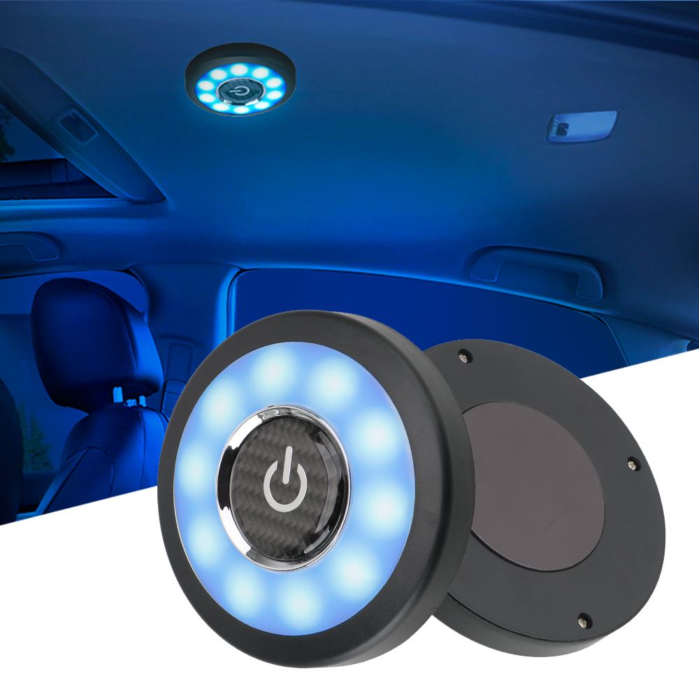 Car Interior Reading Light Roof Ceiling Magnet Lamp USB Charging For Toyota RAV4 Camry Corolla Yaris Prado Prius Tacoma Tundra