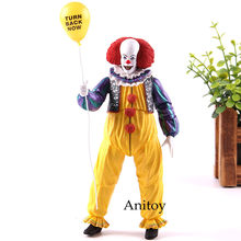 Stephen King é Pennywise O Palhaço Pennywise NECA 1990 Pennywise Do Filme Edição PVC Action Figure Collectible Modelo Toy(China)