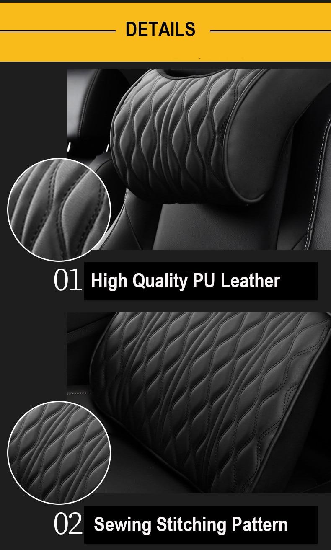 car pillow set 6