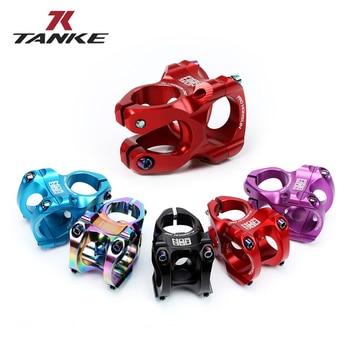 TANKE MTB 35mm Stem CNC 31.8mm Handlebar Bicycle honsun ultralight 0 Degree Rise FR AM Enduro 28.6mm Steerer Mountain Bike parts