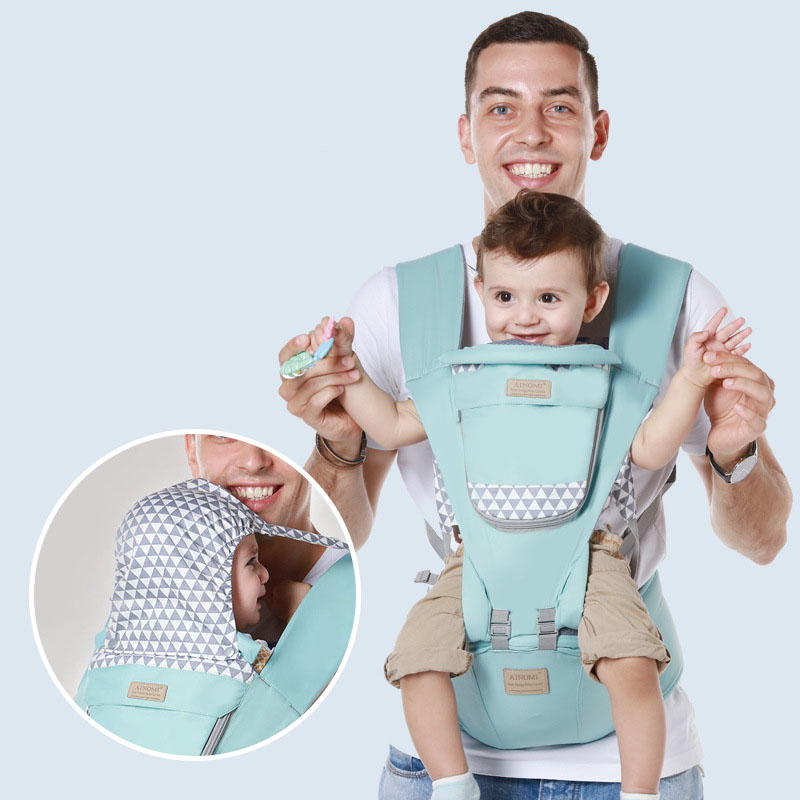 Baby Carrier Waist Stool Newborn Walkers Cotton Mesh Summer Autumn Backpack Hipseat Travel Front Facing Pouch Wrap Kangaroo