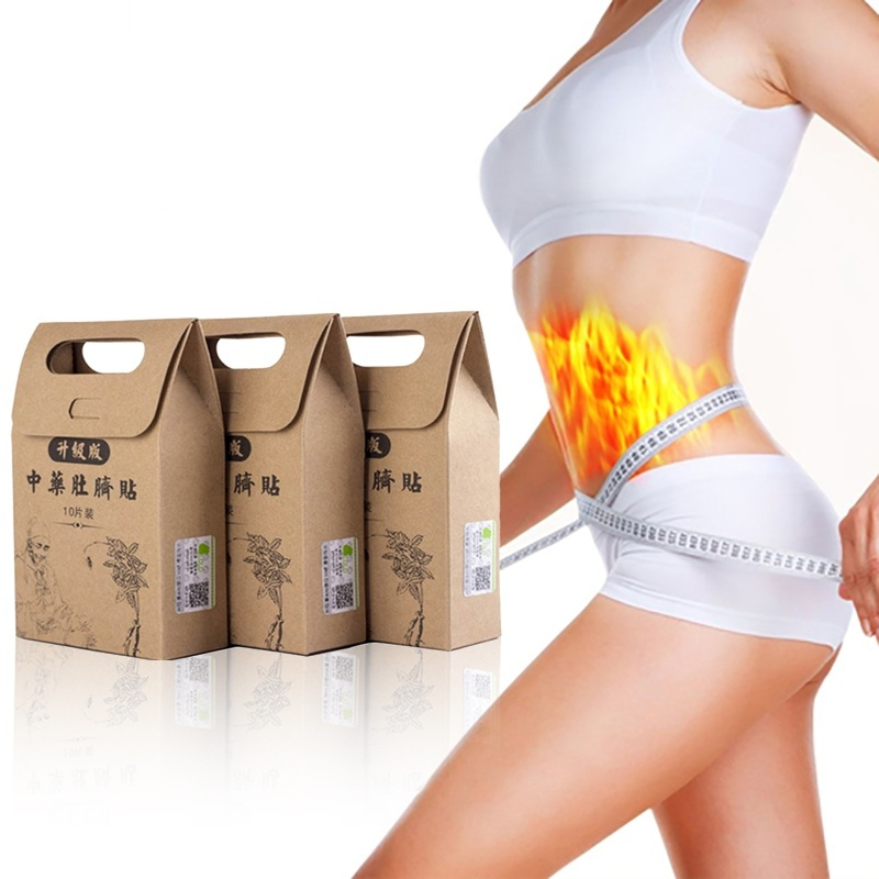 Wholesales 30PCS Chinese Medicine Slimming Patchs Magnetic Loss Weight Slim Diets Pads Detox Adhesive Sheet Fat Burning patches