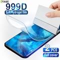 2 шт полное покрытие Гидрогелевая защитная для экрана пленка для Realme 5 6 7 X7 X2 X50 Pro Защита экрана для Realme V5 C3 C11 C12 C15 мягкая пленка не стекло стак...